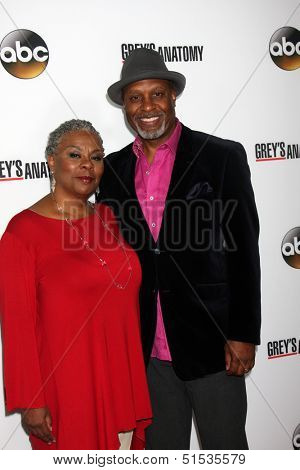 LOS ANGELES - SEP 28:  James Pickens Jr. at the Grey's Anatomy 200th Show Party at The Colony on September 28, 2013 in Los Angeles, CA