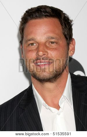 LOS ANGELES - SEP 28:  Justin Chambers at the Grey's Anatomy 200th Show Party at The Colony on September 28, 2013 in Los Angeles, CA