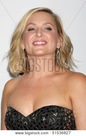 LOS ANGELES - SEP 28:  Jessica Capshaw at the Grey's Anatomy 200th Show Party at The Colony on September 28, 2013 in Los Angeles, CA