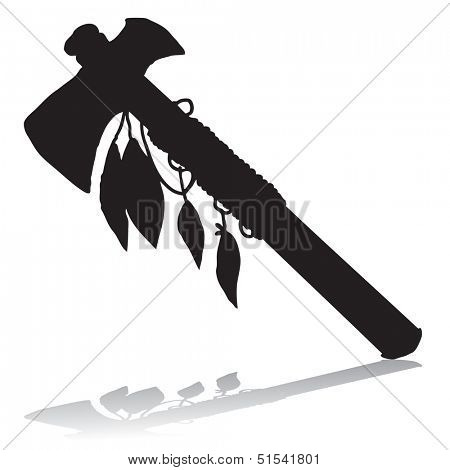 Tomahawk silhouette