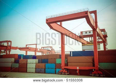 Container Intermodal Yard