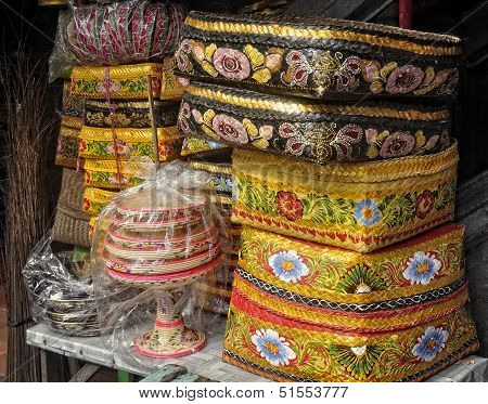 Baskets for Offering - Bali