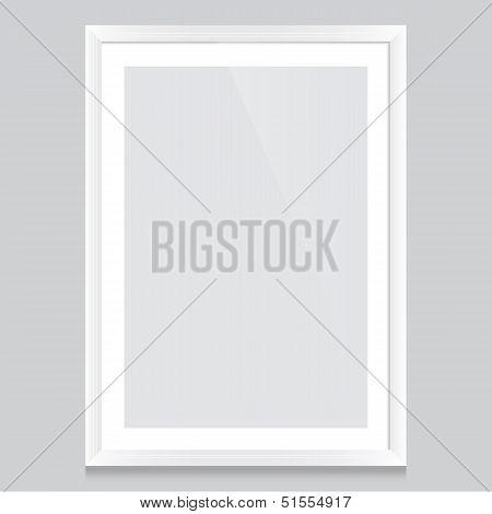 Poster-frame-white