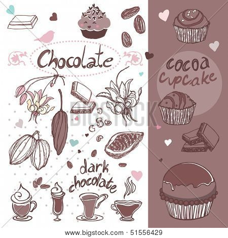 cocoa time doodles