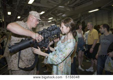 Nyc Fleet Week 2009 Inside Uss Iwo Jima (lhd-7)