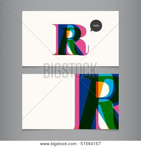 R-business-card