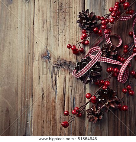 Rustic Christmas Decoration