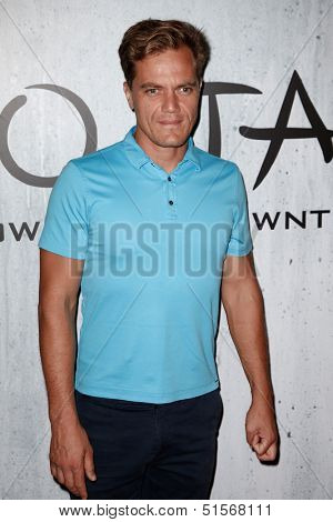 NEW YORK-SEP 28: Actor Michael Shannon attends the grand opening of TAO Downtown at the Maritime Hotel on September 28, 2013 in New York City.