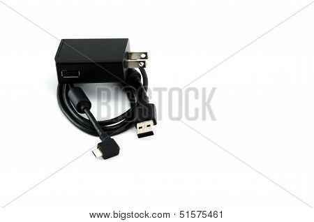 Mobile Charger With Mini Usb Cable