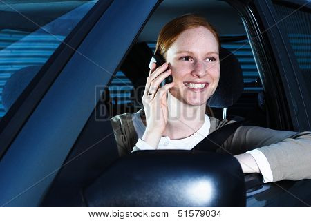 Driver On The Phone