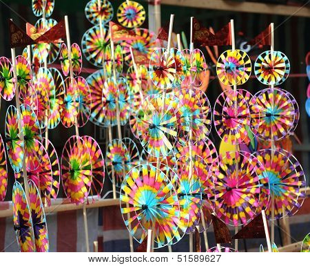 pinwheel Chinese gift used during spring festival