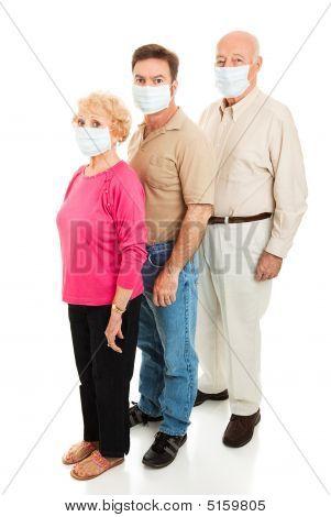 Epidemic - Wearing Face Masks