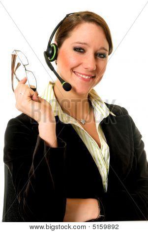 Businesswoman Office