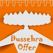 pic of dussehra  - illustration of Ravana with ten heads for Dussehra Sale Promotion - JPG