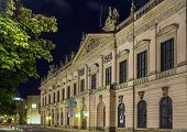 picture of arsenal  - Zeughaus in evening - JPG