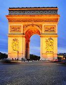 picture of charles de gaulle  - Arc De Triomphe De L - JPG