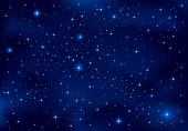 stock photo of nebula  - Night background - JPG
