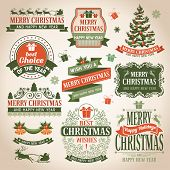 foto of christmas claus  - Christmas collection of design elements - JPG