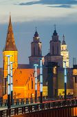 Churches in Kaunas, Lithuania