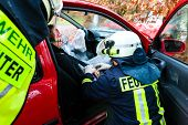 stock photo of fire brigade  - Accident  - JPG