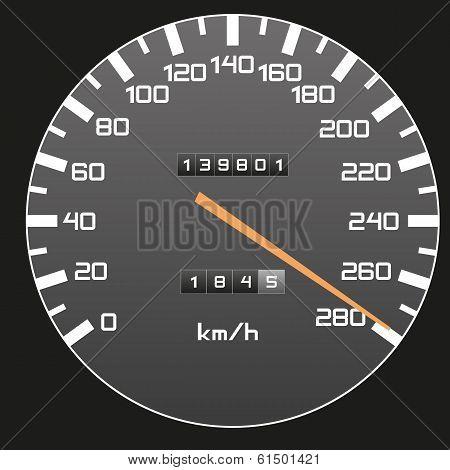 Top Speed - Speedometer Illustration