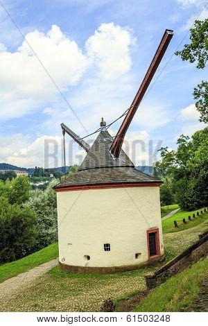 Trier Medieval Crane Germany