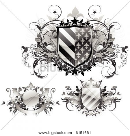 Shields decorative