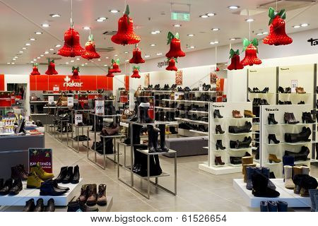 Xmas Shoes Shop