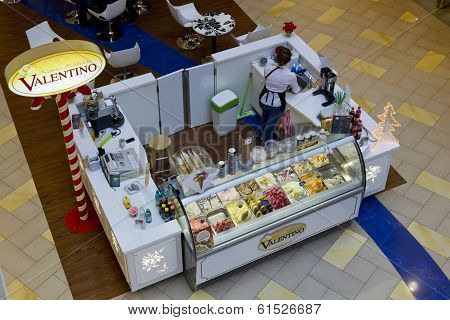 Valentino Ice Cream Store Top View