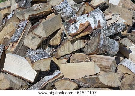 Birch Firewood For Bath