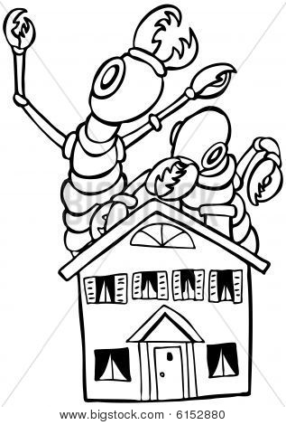 Termite Eating House