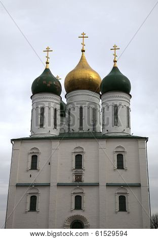 Uspenskiy Cathedral in Kolomna Kremlin, Russia