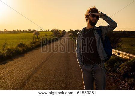 On the Road Traveler