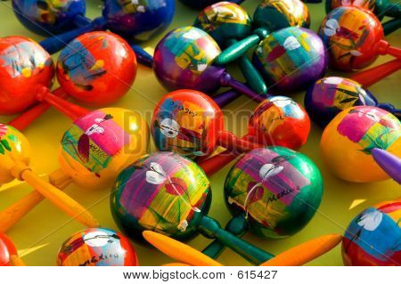 Colorful Maracas