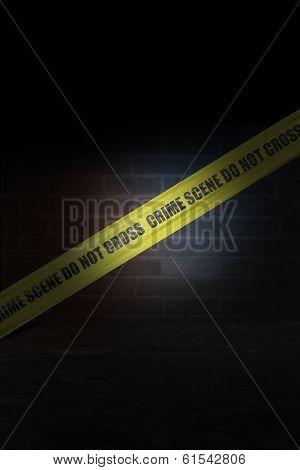 Crime Scene Cordon Tape