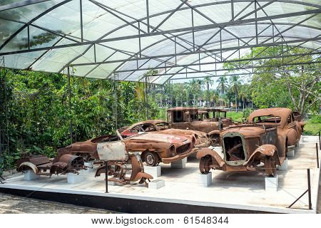 Destroyed Car Collection