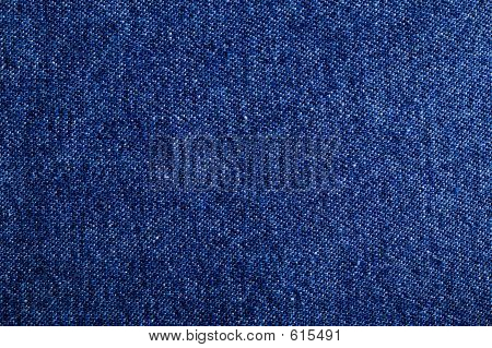 Blue Denim Fabric Pattern