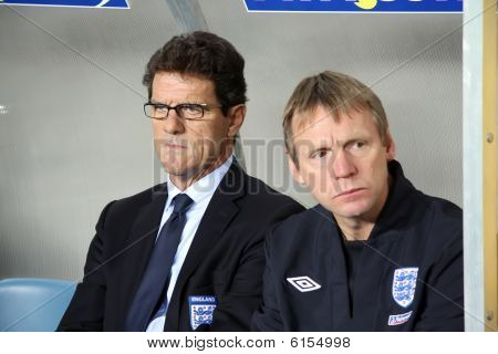 Head Coach Of England, Fabio Capello