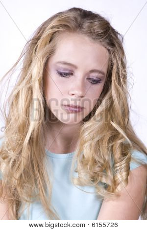 Expression Girl Sad