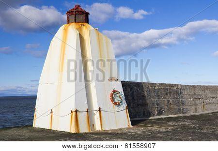 Burghead pier, Scotland