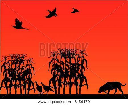 Caça de aves selvagens