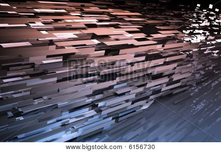 Abstract Internet Background