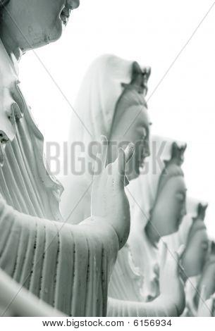 Statue Of Kannon.