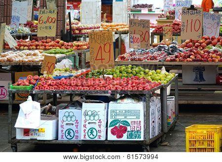 Outdoor Fruit Store