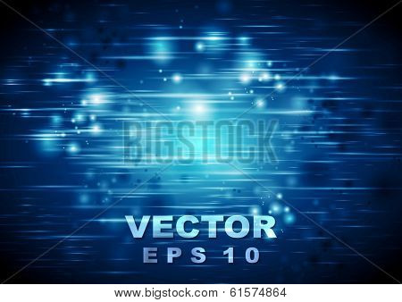 Bright abstract glowing vector design