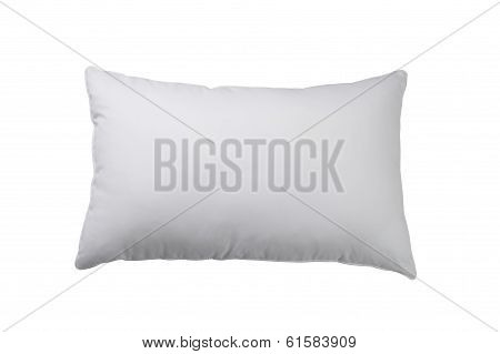 white and clean pillow