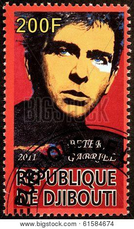 Peter Gabriel Stamp