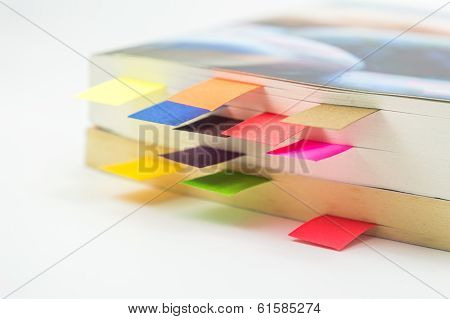 Book With Book Marks