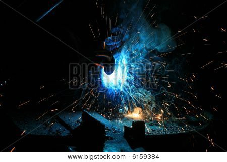 welding background