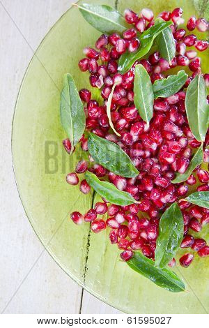 Product Of The Autumn Season Pomegranate